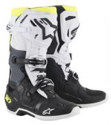 Alpinestars Tech 10  MX Boots Black/White/Yellow